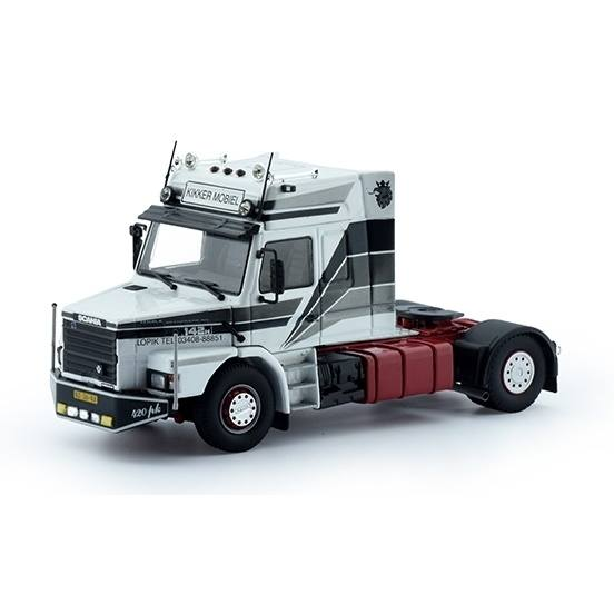 75331 - Tekno - Scania T 142 Hauber mit Hochdach 4x2 2achs Zugmaschine - Maru-Wida Transport -NL -