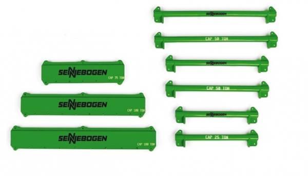 WB004-16150 - Weiss Brothers - Spreader Bar Set - Sennebogen - 121 teilig