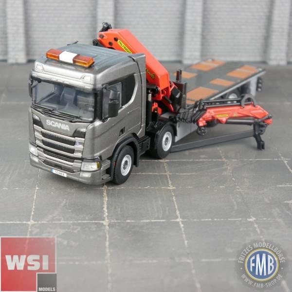 2784806 - WSI - Scania CR500 8x2-6 Plattform-LKW mit Palfinger Ladekran