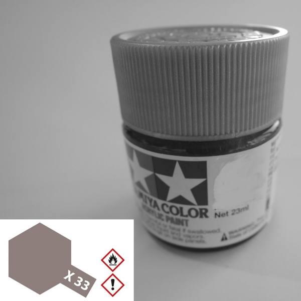 81033 - Tamiya - Acrylfarbe 23ml, bronze glänzend X-33