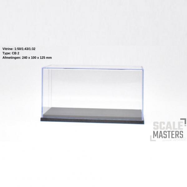 ScaleMasters - Vitrine für LKW Modelle im Maßstab 1/50 ( 240x100x125mm)
