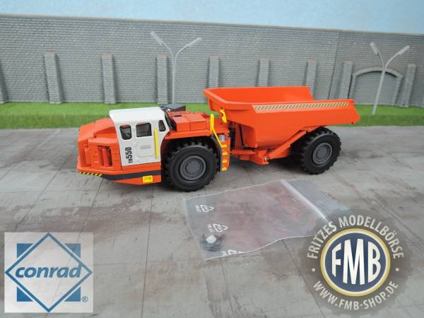 2729/02 - Conrad - Sandvik TH550 Untertage Dumper -neues Muldendesign-