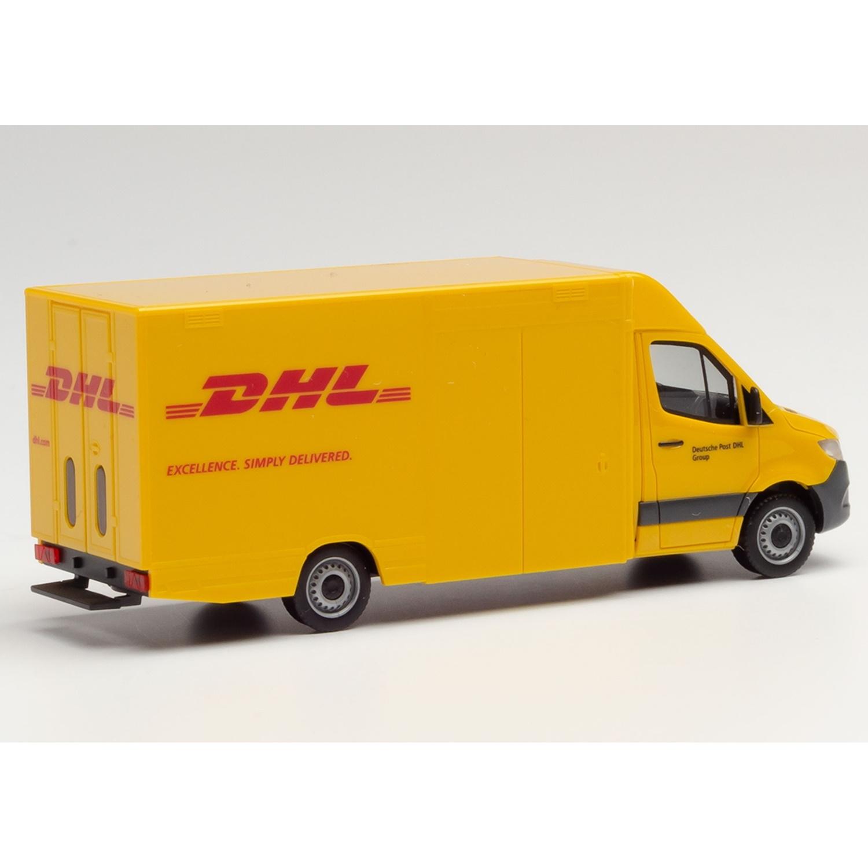 herpa 095297 Mercedes-Benz Sprinter `18 Paketverteilerfahrzeug DHL 1:87 NEU...