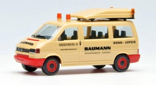 """3951 - Herpa - VW T4 Bus Begleitfahrzeug BF2 """"Baumann"""""""