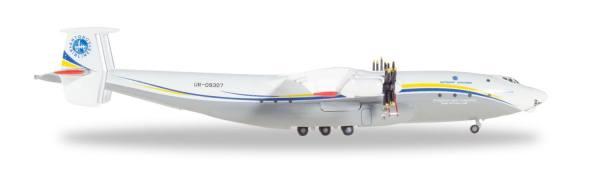 """532648 - Herpa - Antonov Airlines  Antonov AN-22 Antei """"UR-09307"""" - 1:500"""