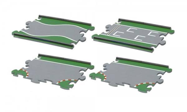 6853 - Fahrbahnset Sondermatten für SikuRacing - 4 Stück