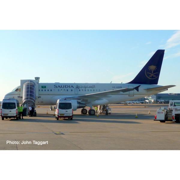 534727 - Herpa Wings - Saudia Royal Flight Airbus A318 - HZ-AS99 -