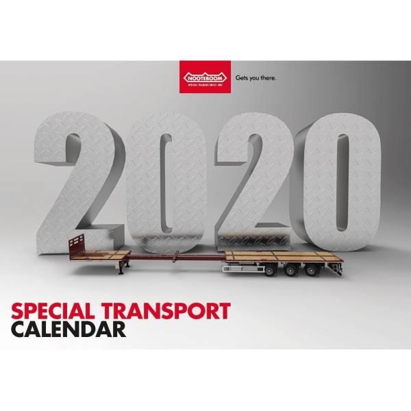 561.31.56 - Nooteboom Kalender 2020 - Schwertransporte