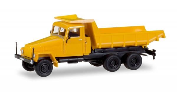 307574 - Herpa - IFA G5 Muldenkipper, orange